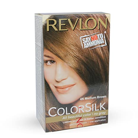 Buy Revlon Colorsilk Hair Color Medium Brown 4n 40ml Online At