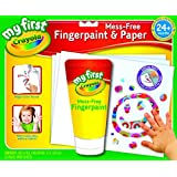 My First Crayola Mess-Free Fingerpaint & Paper-