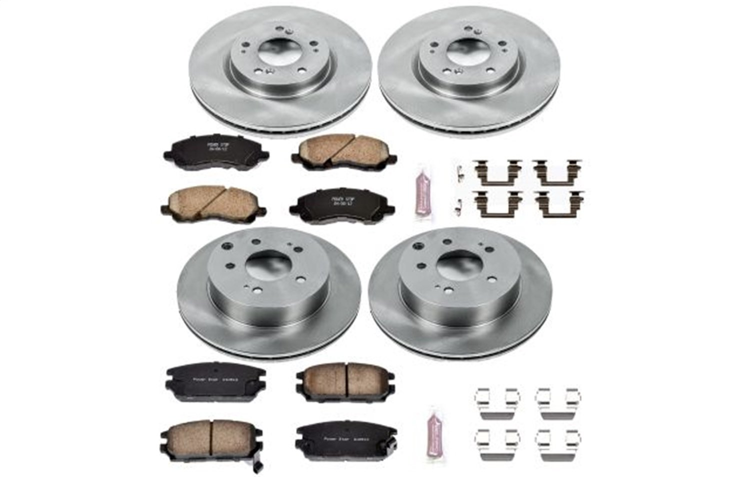Autospecialty KOE2809 Daily Driver OE Brake Kit Front and Rear Power Stop