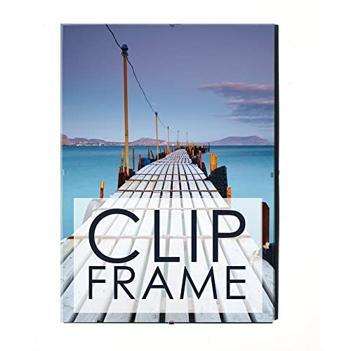 Four X Ninety Clip Frame to hold Picture/Photo size 70 x 100cm (27.5 ...