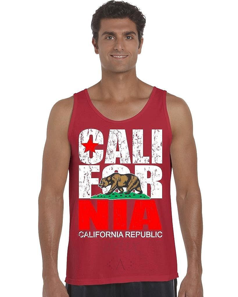 California Republic Vintage Men Tank Top ARTIX A