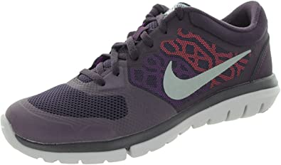 Nike W Flex 2015 RN Flash, Zapatillas de Running para Mujer, Morado (NBL Prpl/Mtllc Slvr-Vvd Prpl-H), 35 1/2 EU: Amazon.es: Zapatos y complementos