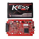 Online EU Version Red KESS V5.017 SW V2.23 MASTER OBD2 Manager Tuning Kit No Token Limitation ECM Titanium Software Car Truck ECU Programmer