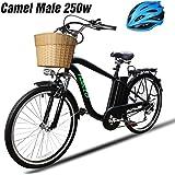 NAKTO Adult Electric Bike 250W E-Bike