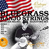 Ortega Guitars RHSM-5 Rudiger Helbig 5 Plus 1 Signature Banjo Strings