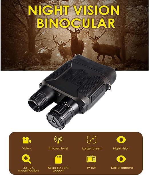 binoculares con vision nocturna vinoculares night vision LCD Infrared largavista