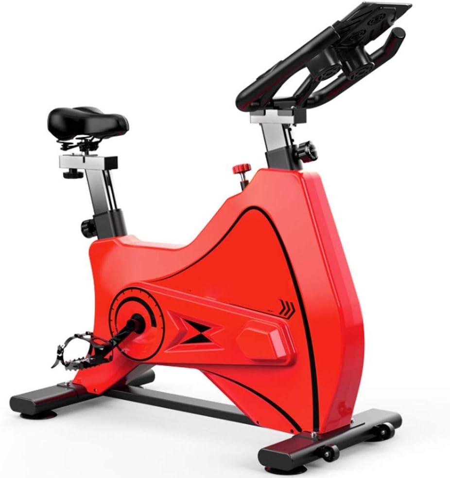 BF-DCGU Bicicletas de Spinning, Bicicletas estáticas Interiores con Ajustable Resistencia, Ultra silencioso Bicicletas Todo Incluido Deportes, Bicicletas Gimnasio, Peso Casas de pérdida,Rojo: Amazon.es: Hogar