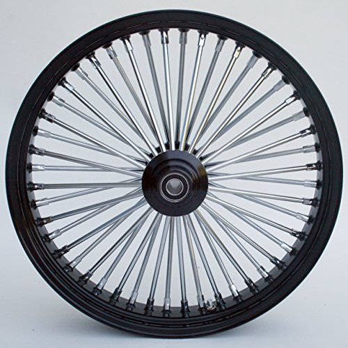 Black Chrome Harley Wheels - 7