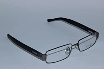 helium paris 4180 mens eyeglasses gunmetal black wood style optical frame
