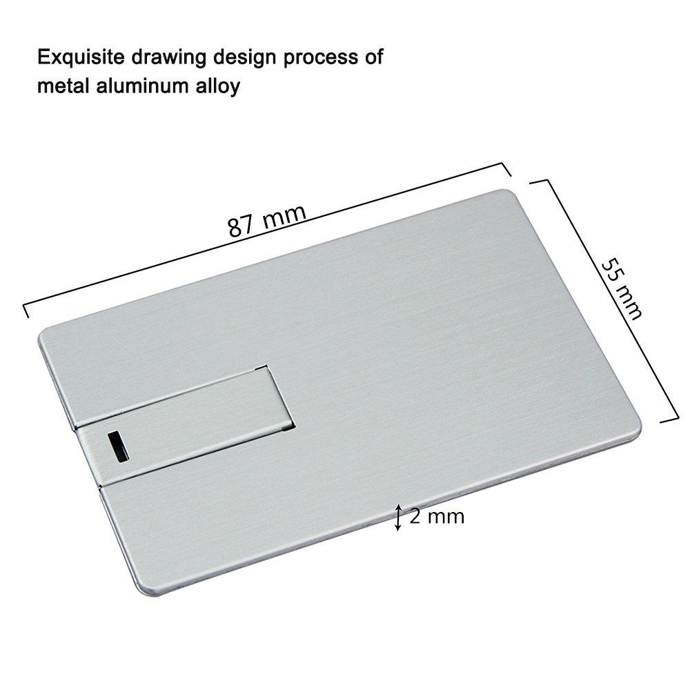 Amazon.com: usbkingdom tarjeta de crédito forma USB2.0 Flash ...