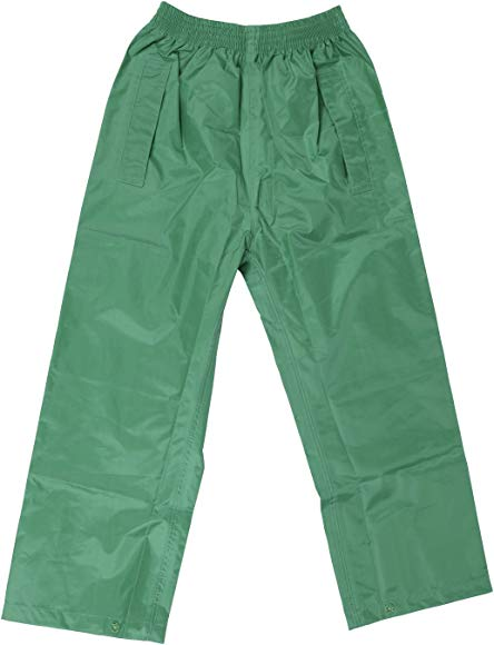 Boys and Girls Rainwear for Outdoor Play DRY KIDS Childrens Waterproof Over Trousers