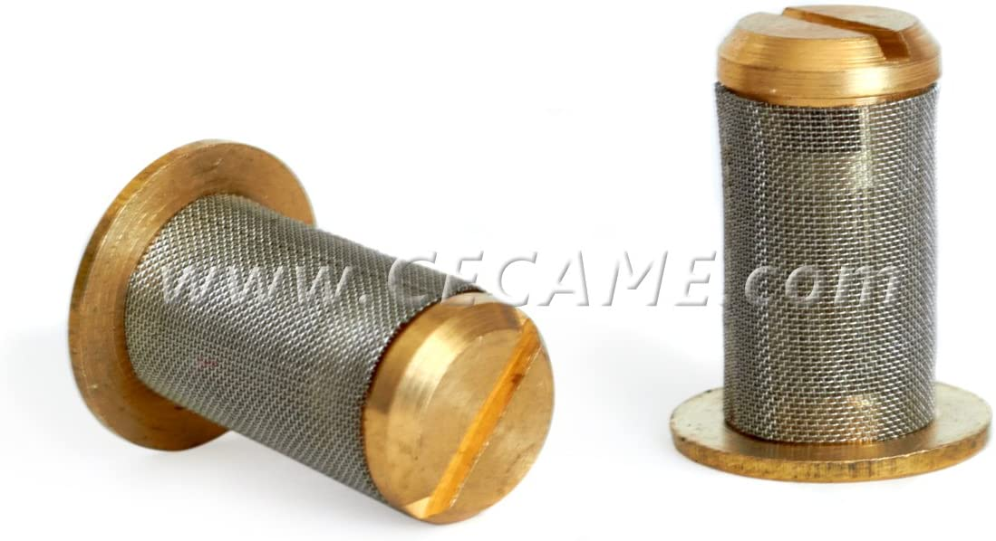 Check-Valve Carpet Cleaning Wand Strainer