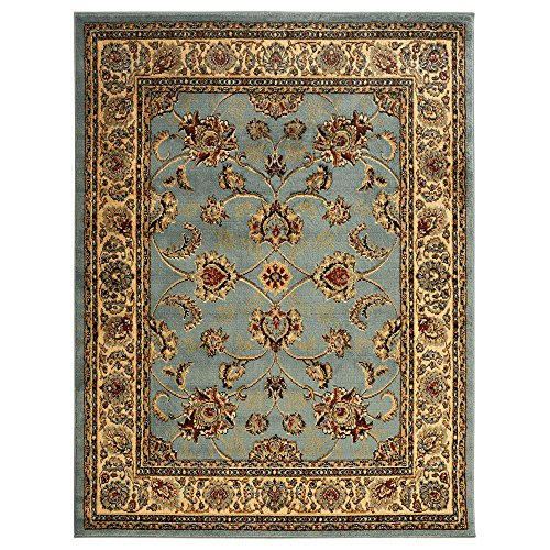 Regal Small Rug - Sweet Home Stores King Collection Mahal Oriental Design Area Rug, 7'10 x 9'10, Seafoam