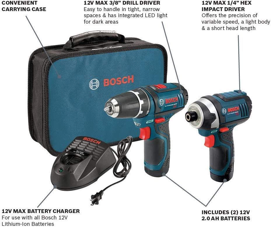 Bosch Power Combo Kit Tools