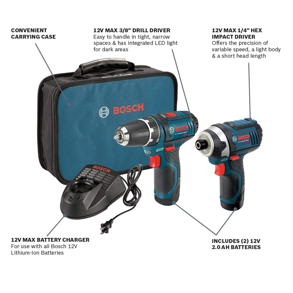 Amazon.com: Bosch CLPK22 – 120 - Kit ...