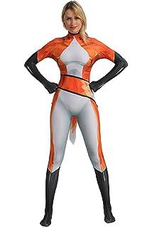 Cosplaybar Womens Deadman Shiro Zentai Tights Bodysuit Cosplay Costume