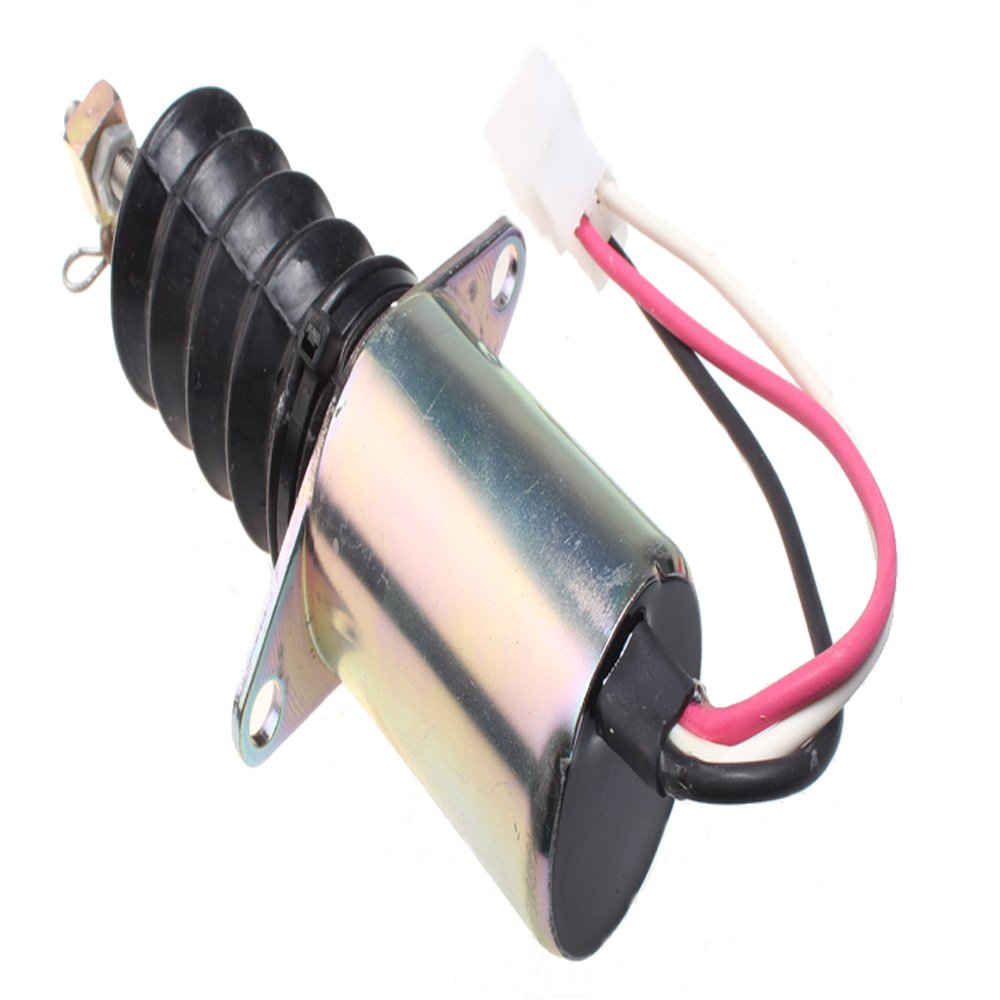Fuel Shut Off Solenoid AM882277 for John Deere 670 770 870 970 1070 Compact Utility Tractor Mover Parts