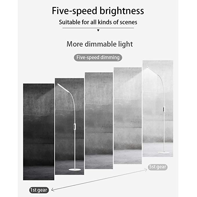 Amazon.com: Fullyday Imported LED Floor Lamp with Remote ...