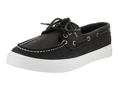 Sperry Top-Sider Men's Bermuda Leather Black Boat Shoe 8 Men US