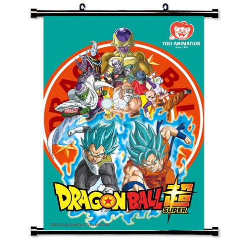 Dragon Ball Super Wall Scroll Poster