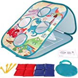 Yuham Outside Toys for Kids Ages 4-8, Bean Bag Toss Indoor Outdoor Games for Kids Cornhole Sets, Outdoor Toys for Toddlers Ag