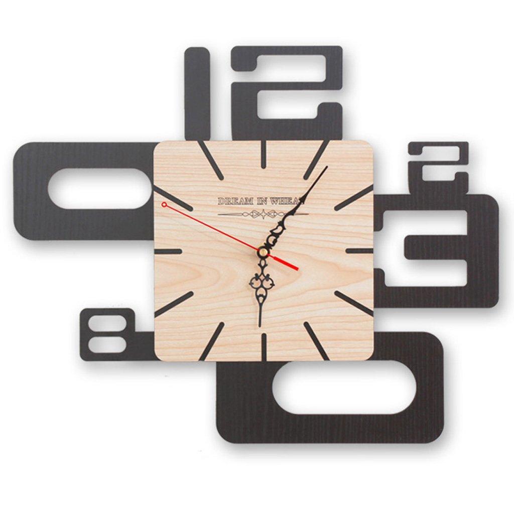 エッジへ 壁時計 時計大きなクリエイティブウォールクロックリビングルーム抽象的なアートサイレントパーソナリティシンプルな近代的な壁時計、スタイリッシュなウォールクロック ( 色 : 16 inches ) B07BNCMR33 16 inches 16 inches