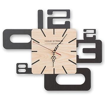Amazon.de: Edge to Wanduhren Uhr große kreative Wanduhr Wohnzimmer ...