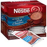 nestles hot chocolate fat free - Nestle Hot Cocoa Mix, Rich Chocolate, No Sugar Added, 8.46 Ounce, 30 count