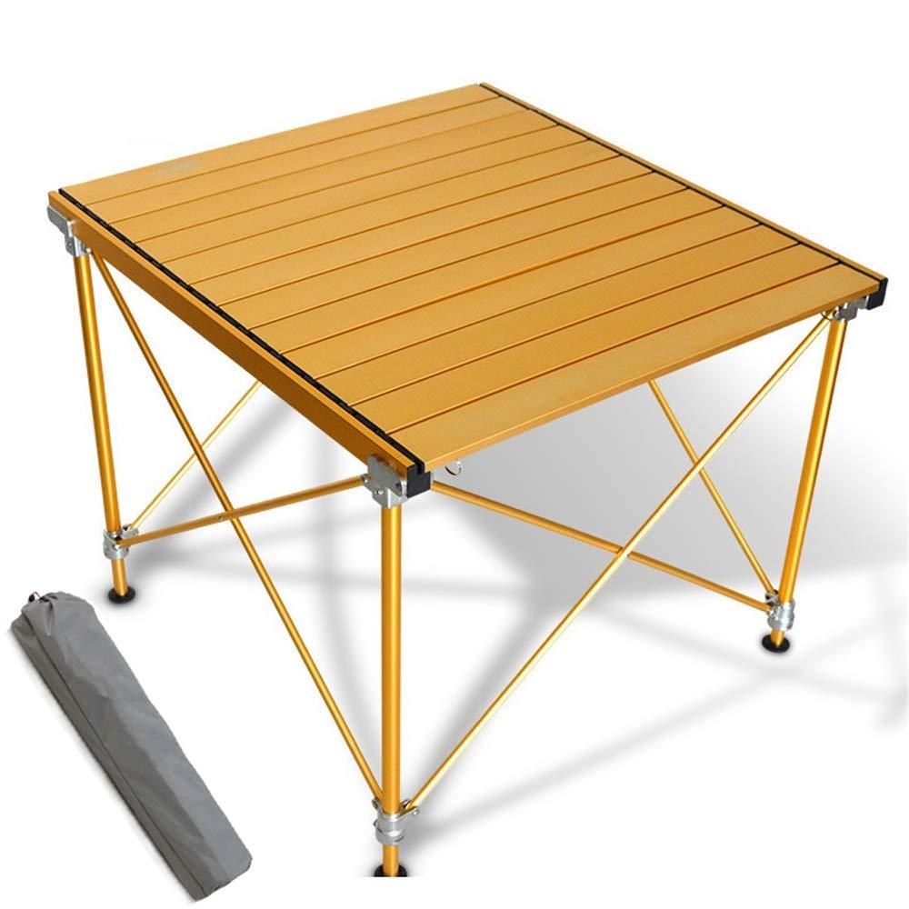 NOBLJX Table De Camping Portative, Tables Pliantes en Aluminium Ultra-Légères De Haute Qualité, Hauteur Ajustable avec Sac De Transport pour Pique-Nique en Plein Air, Plage, Pêche, Cuisson  -
