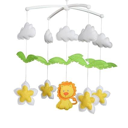Lindo león y flores] Juguetes colgantes para bebés ...