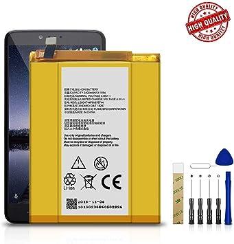 Batería de Repuesto para MetroPCS ZTE ZMax Pro Z981 Li3934T44P8H876744: Amazon.es: Electrónica