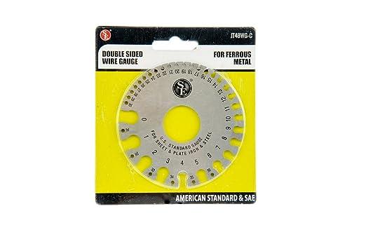 Se jt48wg c double sided wire gauge for ferrous metal amazon greentooth Gallery