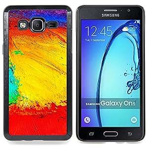 Landscape Geography Structure Colors Artwork Caja protectora de pl??stico duro Dise?¡Àado King Case For Samsung Galaxy On5 SM-G550FY G550