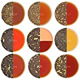 Chai Tea Sampler​, 10 TEAS, India's Original Masala Chai Tea Blends (50 Cups), 100% Natural Ingredients - Grown, Blended & Shipped Direct from Source in India, Authentic Chai Tea Loose Leaf (Net Wt. 100g / 3.53oz)
