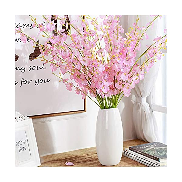 ULUK-Artificial-Orchids-Flowers12-Pcs-Silk-Fake-Orchid-Flowers-in-Bulk-Flowers-Artificial-Real-Touch-Vase-Arrangements-for-Indoor-Outdoor-Wedding-Home-Office-Decoration-Pink