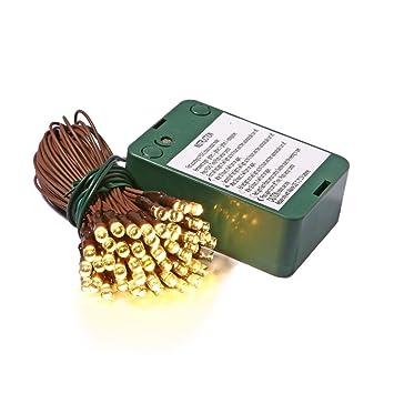 Amazon.com: Vickerman 35-Light Battery Operated Wide Angle LED Warm ...