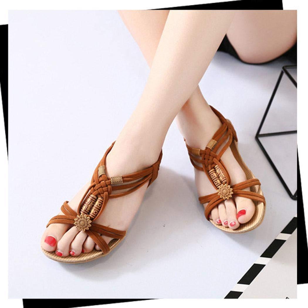 Jintes Donna Casual Sandali Piatti Sandali Estivi Scarpe da Spiaggia Calzature Pantofole