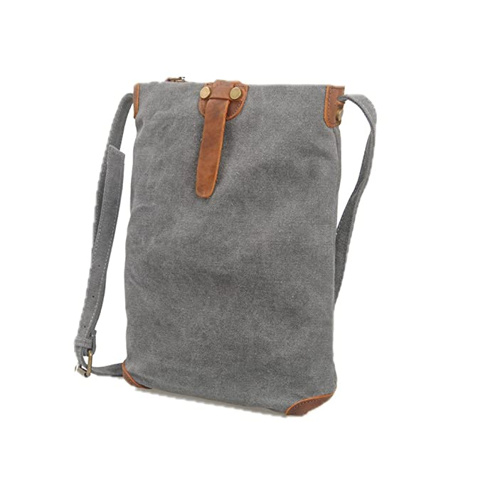 67879642efca Amazon.com: Rnwen Crossbody Bags for Man Men's Canvas Shoulder Bags ...