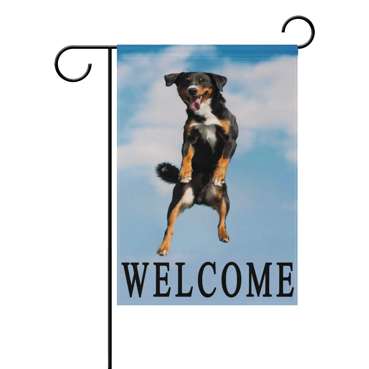 Amazon Com Wxlife Appenzeller Dog Welcome Garden Flag 12 X