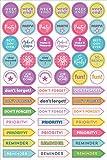 Essentials Weekly Planner Stickers