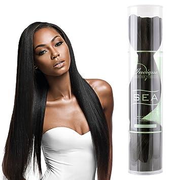 Amazon Indique Virgin Hair Extensions Sea Zen Straight 12