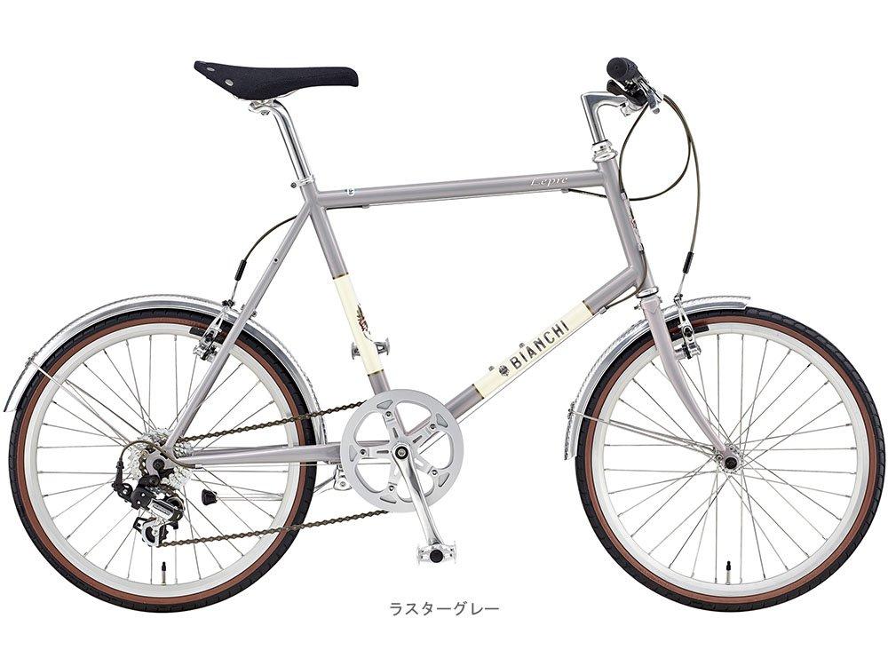 BIANCHI(ビアンキ) 2018 MINIVELO-7(1x7段)ミニベロバイク <ラスターグレー> B0785PG61L43