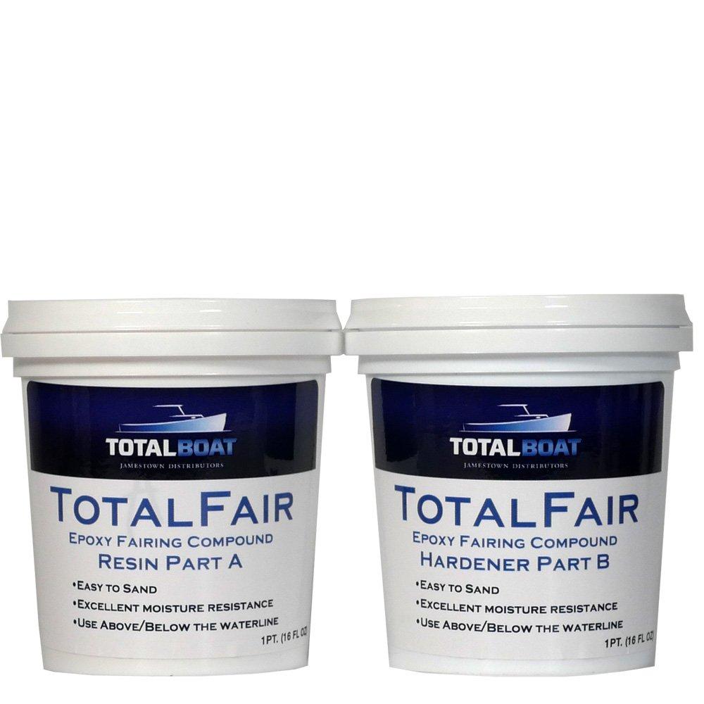 TotalBoat TotalFair Marine Epoxy Fairing Compound for Fiberglass, Wood, Aluminum and Steel