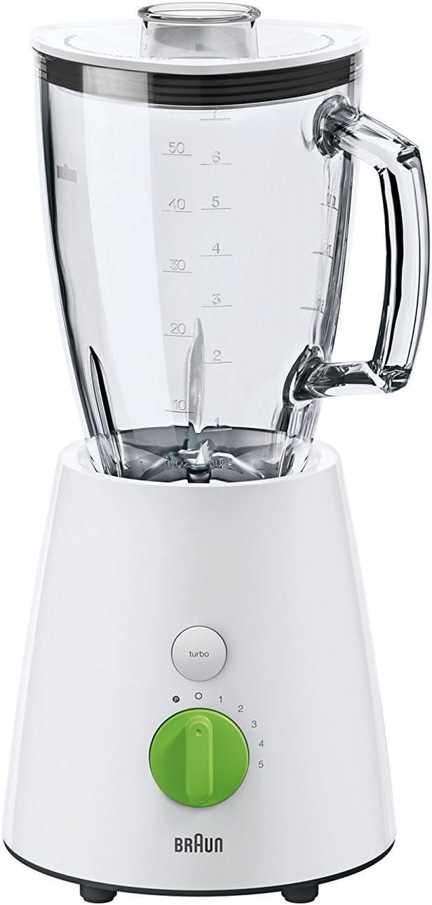 Braun JB 3060 JB3060WH - Batidora de vaso, cristal, 1, 75 l
