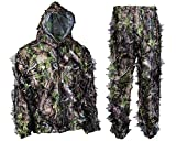 Moser Spring Green Camouflage Complete Hunting Leafy Ghillie Suit (XX-Large)