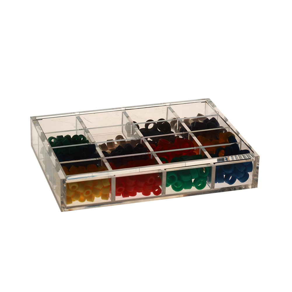 Easyinsmile Instrument Code Ring Dispenser Organizer Acrylic Storage Organizer Container 61JCJZkR6PL