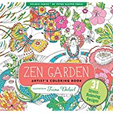 Zen Garden Adult Coloring Book (31 stress-relieving designs) (Artists' Coloring Books)