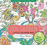 zen drawing book - Zen Garden Adult Coloring Book (31 stress-relieving designs) (Artists' Coloring Books)