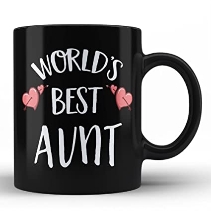 Amazoncom Worlds Best Aunt Mug Aunt Ever Gifts For Her