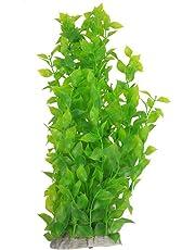 SODIAL(R) 40cm Vert herbe/plante aquatique artificielle en plastique Decoration pour aquarium